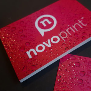 3D Spot UV Business Cards – Soft Touch Laminated