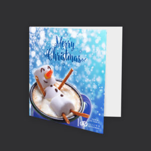 Christmas Cards – 148mm x 148mm – Including 3D Spot UV